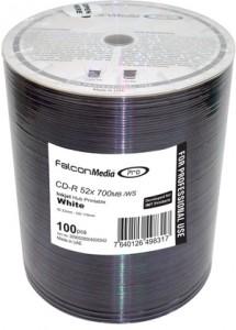 Falcon Professional Inkjet Printable CD-R